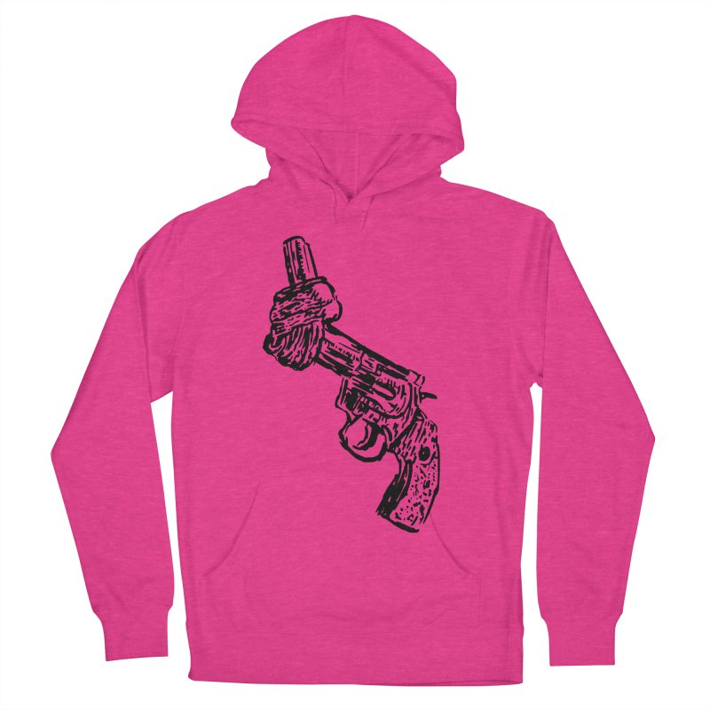 Gun-tied Men's French Terry Pullover Hoody by by Chad Rea