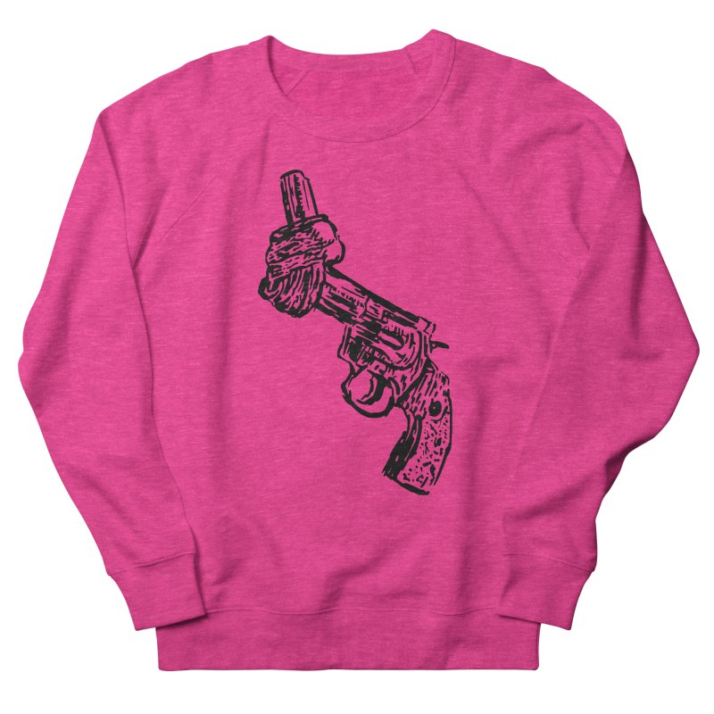 Gun-tied Women's French Terry Sweatshirt by by Chad Rea