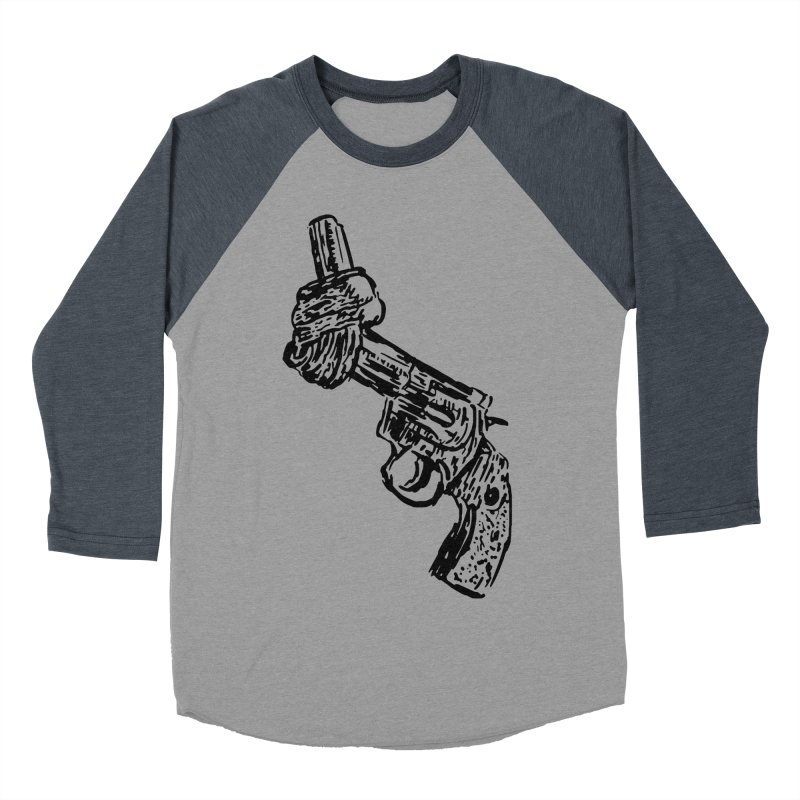 Gun-tied Women's Baseball Triblend Longsleeve T-Shirt by by Chad Rea