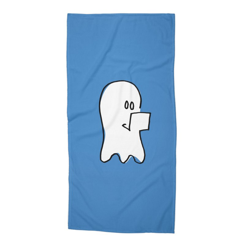 ghostwriter Accessories Beach Towel by chalkmotion's Shop