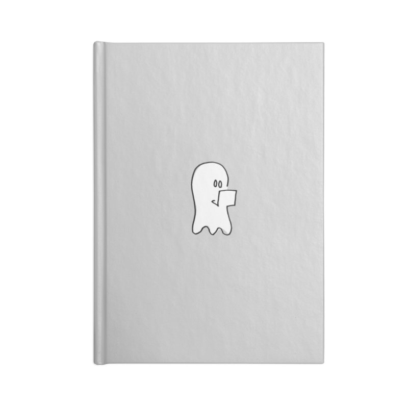 ghostwriter Accessories Blank Journal Notebook by chalkmotion's Shop
