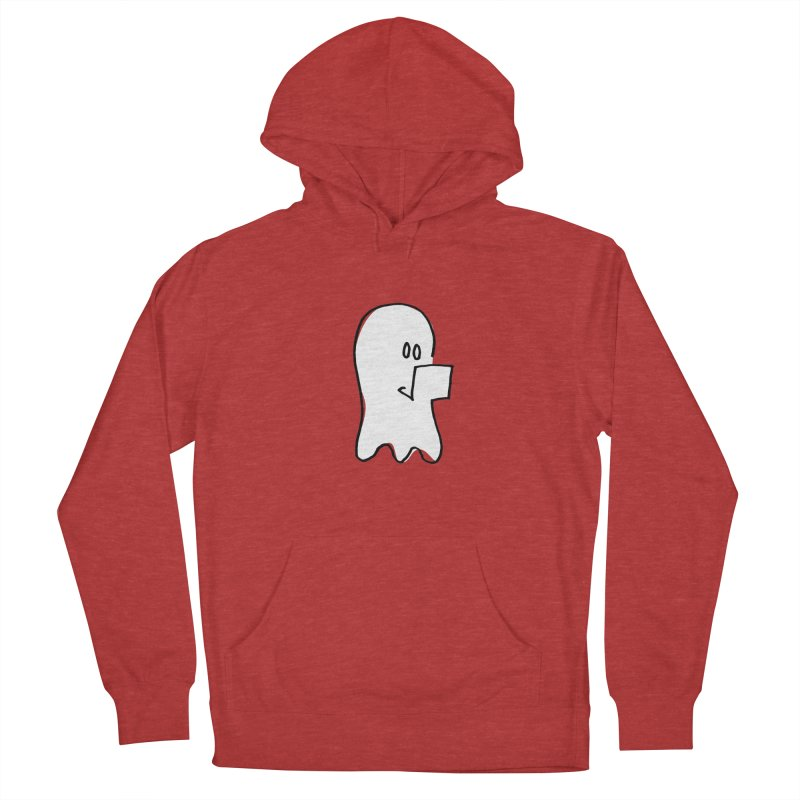ghostwriter Men's Pullover Hoody by chalkmotion's Shop