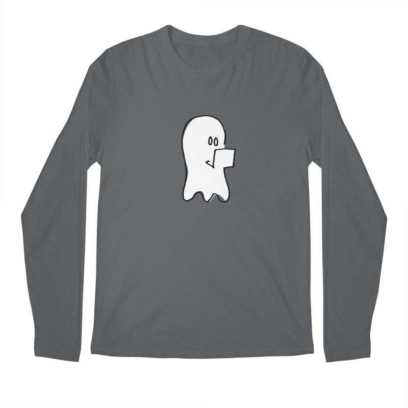 ghostwriter Men's Longsleeve T-Shirt by chalkmotion's Shop