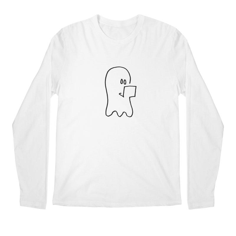 ghostwriter Men's Longsleeve T-Shirt by chalkmotion's Shop