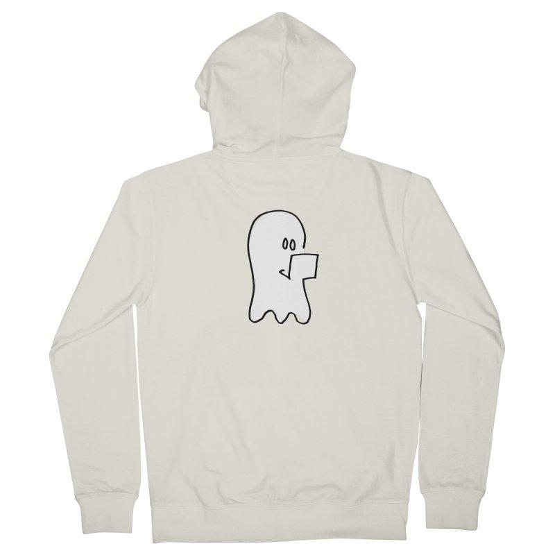 ghostwriter Women's Zip-Up Hoody by chalkmotion's Shop