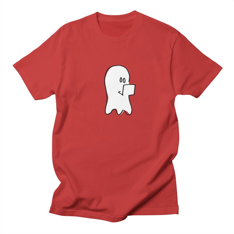 ghostwriter Men's Regular T-Shirt by chalkmotion's Shop