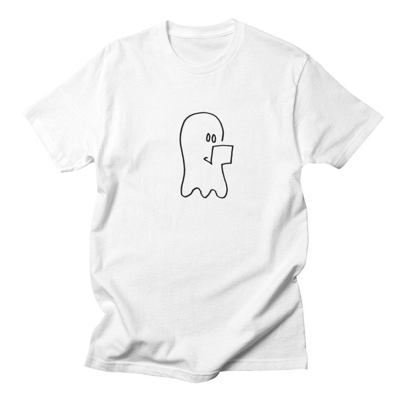 ghostwriter Men's T-Shirt by chalkmotion's Shop