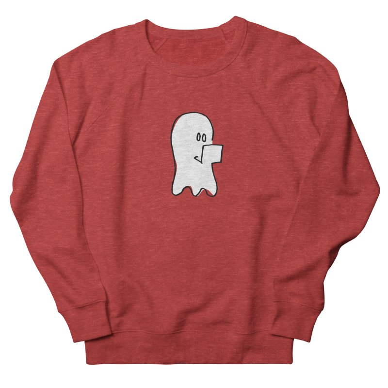 ghostwriter Women's French Terry Sweatshirt by chalkmotion's Shop