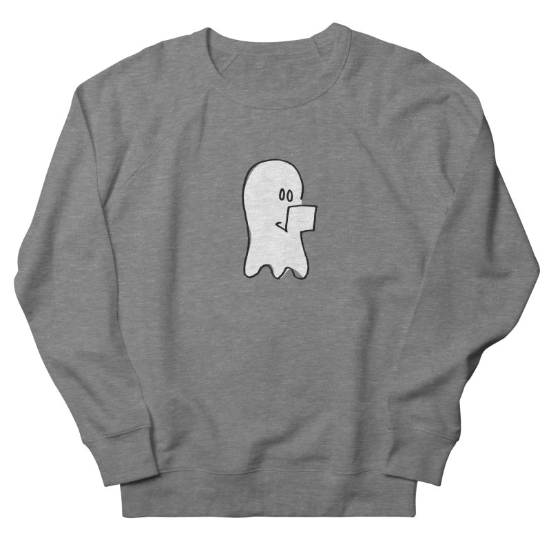 ghostwriter Men's French Terry Sweatshirt by chalkmotion's Shop