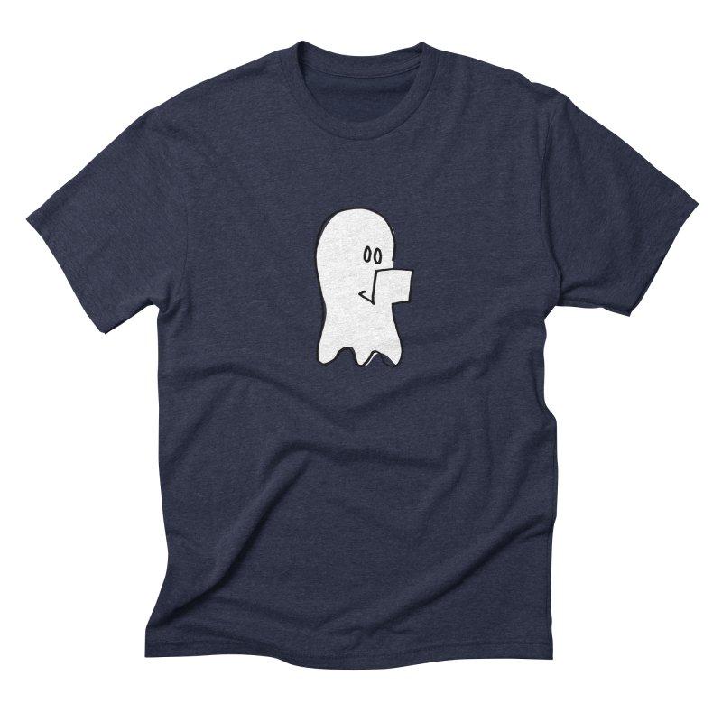 ghostwriter Men's Triblend T-Shirt by chalkmotion's Shop