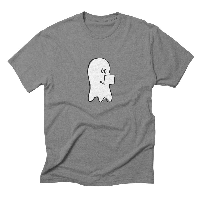 ghostwriter Men's Triblend T-Shirt by chalkmotion's Shop