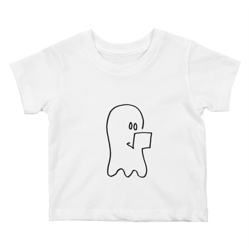 ghostwriter Kids Baby T-Shirt by chalkmotion's Shop