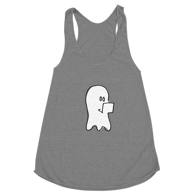 ghostwriter Women's Tank by chalkmotion's Shop