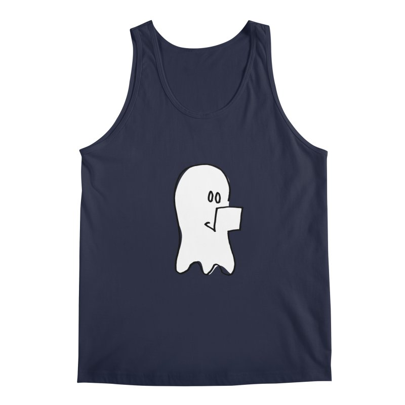 ghostwriter Men's Regular Tank by chalkmotion's Shop