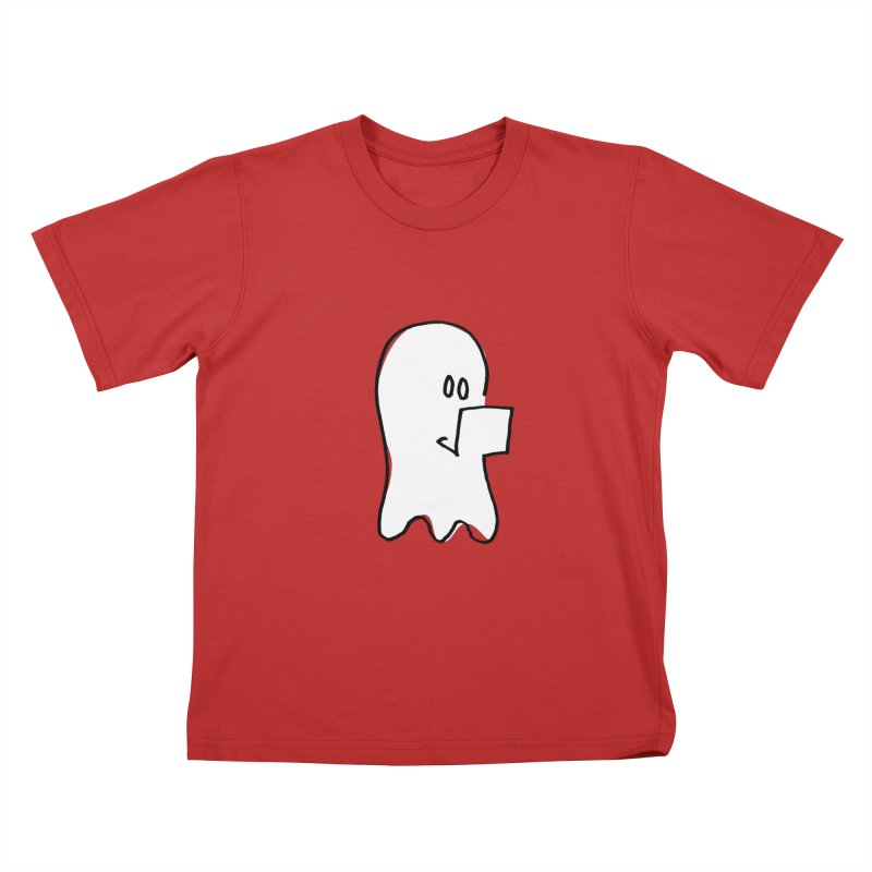 ghostwriter Kids T-Shirt by chalkmotion's Shop