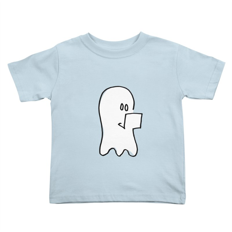 ghostwriter Kids Toddler T-Shirt by chalkmotion's Shop