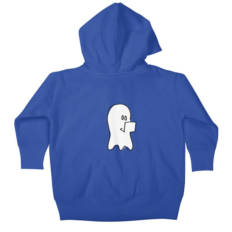 ghostwriter Kids Baby Zip-Up Hoody by chalkmotion's Shop