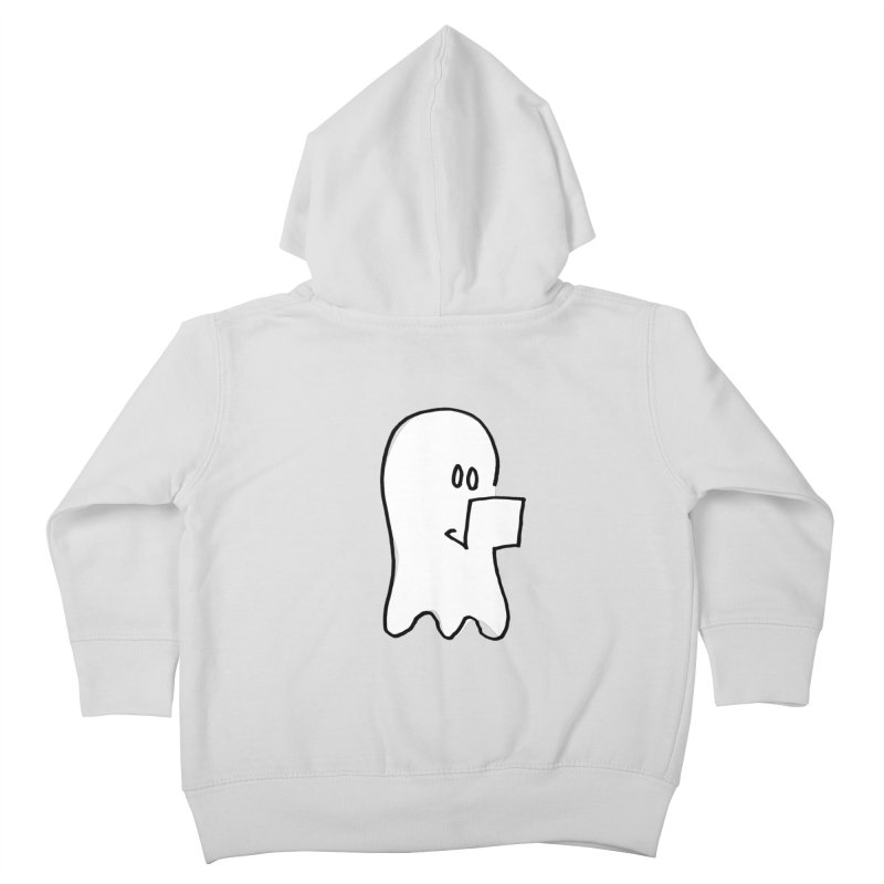 ghostwriter Kids Toddler Zip-Up Hoody by chalkmotion's Shop