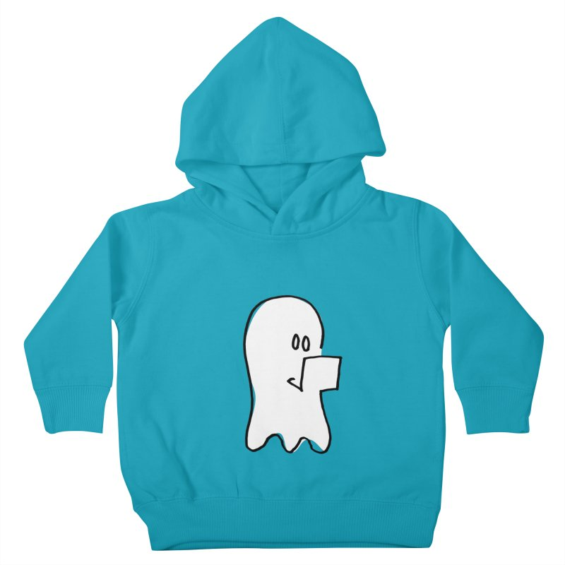 ghostwriter Kids Toddler Pullover Hoody by chalkmotion's Shop