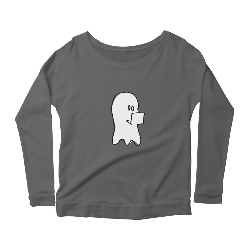 ghostwriter Women's Longsleeve T-Shirt by chalkmotion's Shop