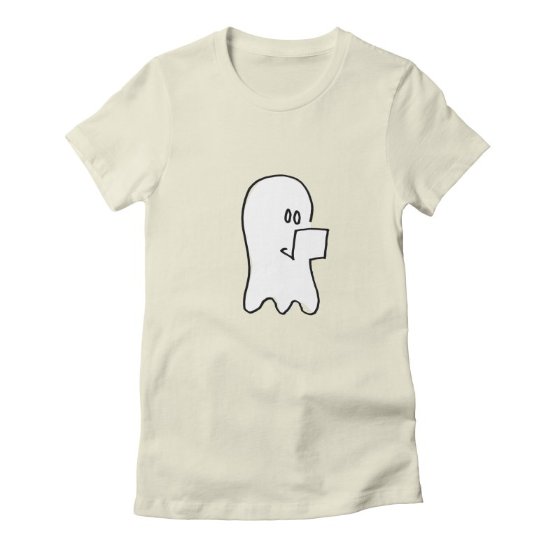 ghostwriter Women's T-Shirt by chalkmotion's Shop