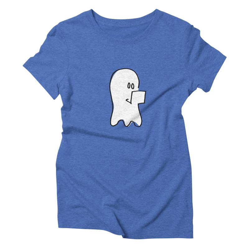 ghostwriter Women's Triblend T-Shirt by chalkmotion's Shop