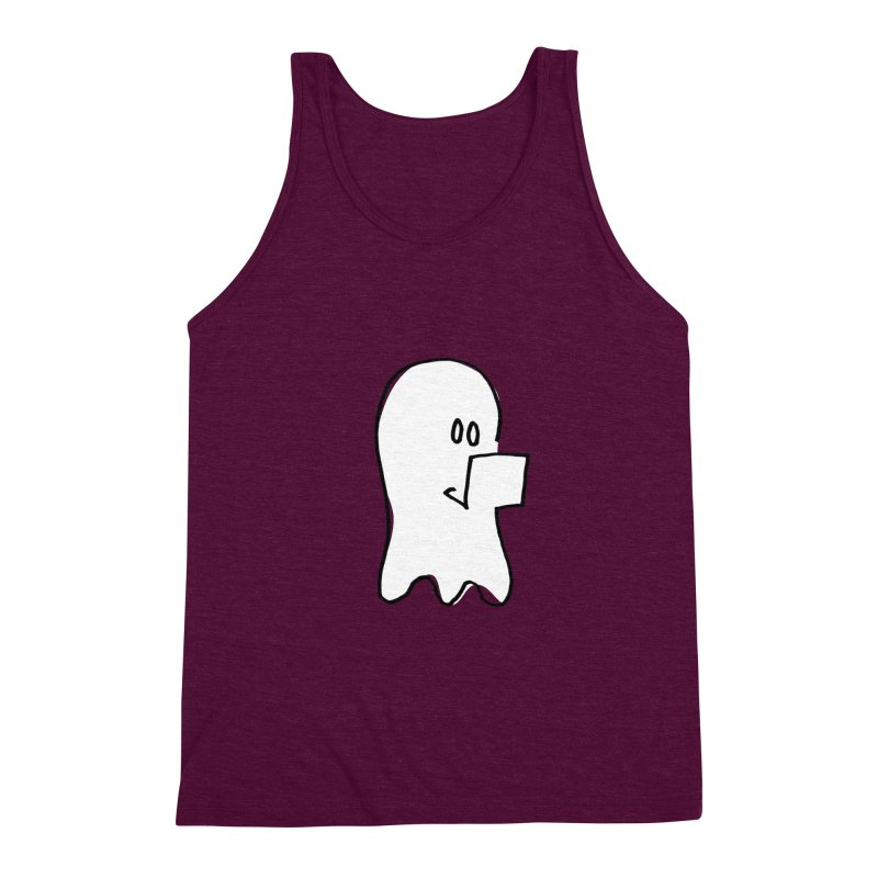 ghostwriter Men's Tank by chalkmotion's Shop