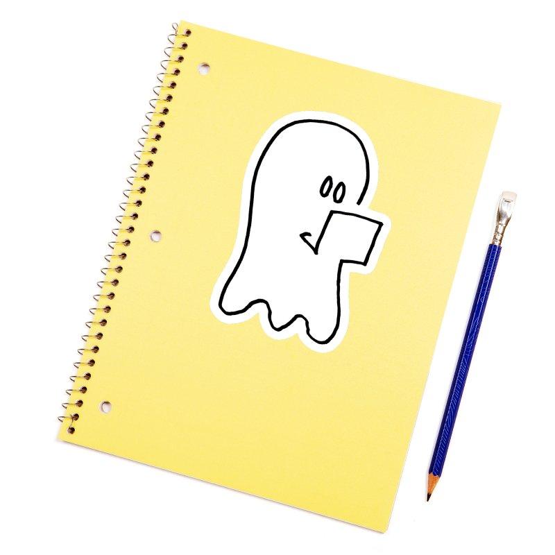 ghostwriter Accessories Sticker by chalkmotion's Shop
