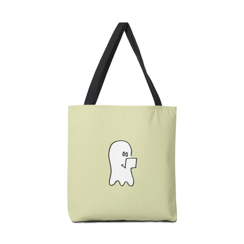ghostwriter Accessories Tote Bag Bag by chalkmotion's Shop