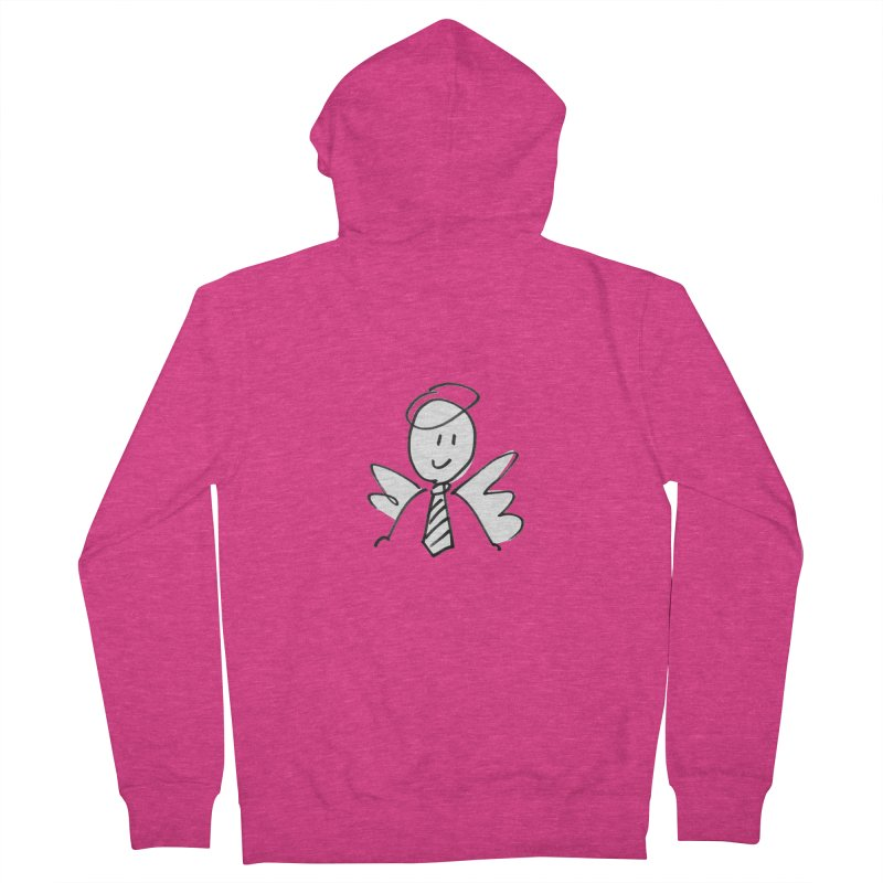 Angel Investor Women's Zip-Up Hoody by chalkmotion's Shop