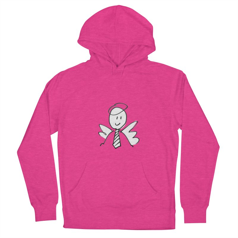 Angel Investor Women's French Terry Pullover Hoody by chalkmotion's Shop