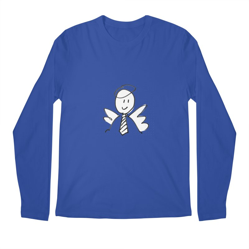 Angel Investor Men's Longsleeve T-Shirt by chalkmotion's Shop