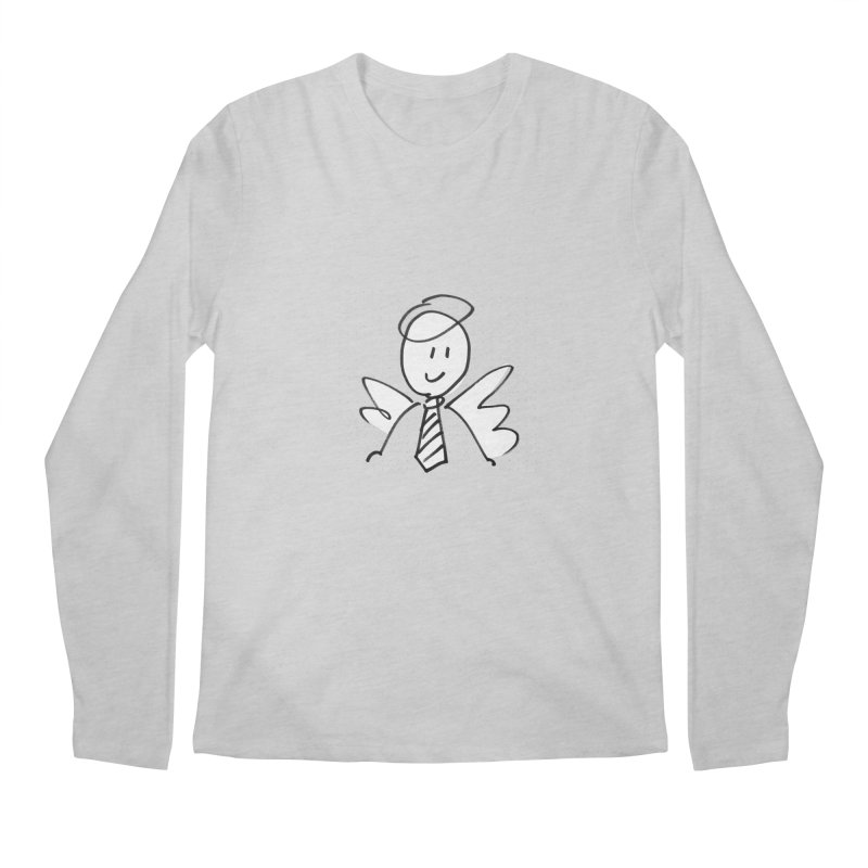 Angel Investor Men's Regular Longsleeve T-Shirt by chalkmotion's Shop
