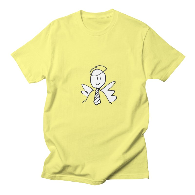 Angel Investor Men's T-Shirt by chalkmotion's Shop