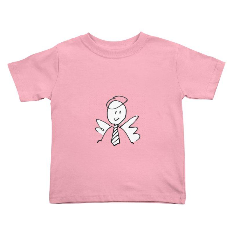 Angel Investor Kids Toddler T-Shirt by chalkmotion's Shop