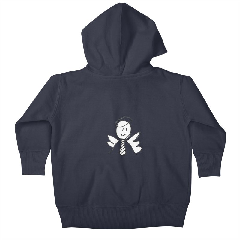 Angel Investor Kids Baby Zip-Up Hoody by chalkmotion's Shop