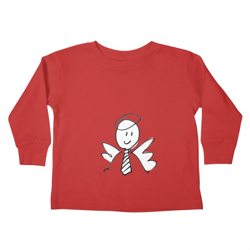 Angel Investor Kids Toddler Longsleeve T-Shirt by chalkmotion's Shop