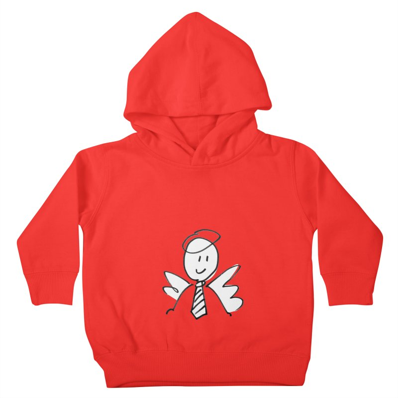 Angel Investor Kids Toddler Pullover Hoody by chalkmotion's Shop