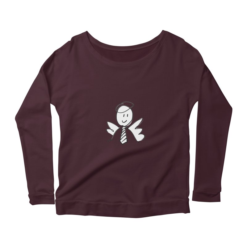 Angel Investor Women's Longsleeve T-Shirt by chalkmotion's Shop
