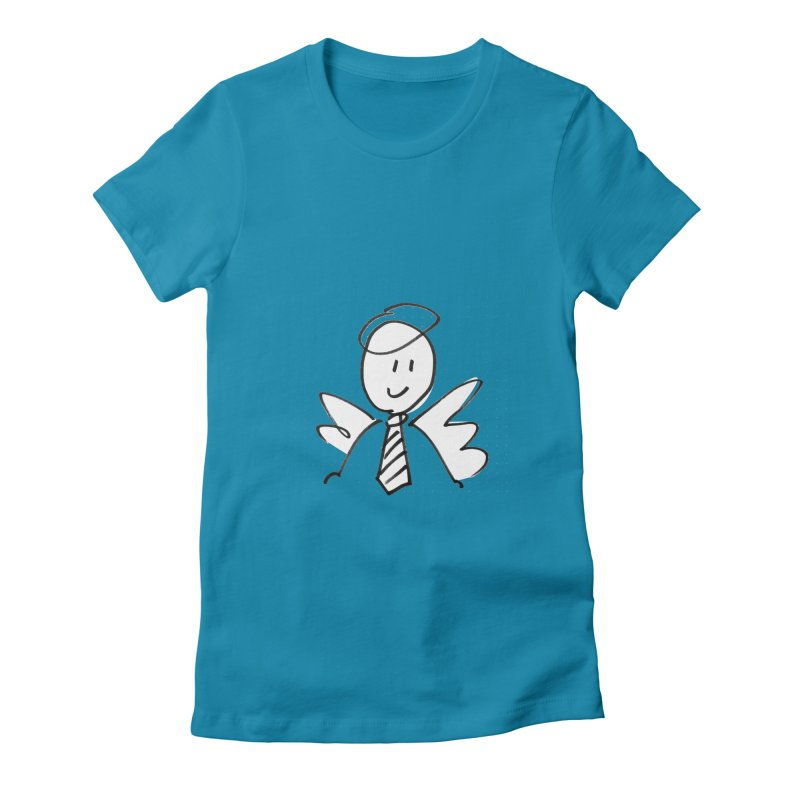 Angel Investor Women's T-Shirt by chalkmotion's Shop