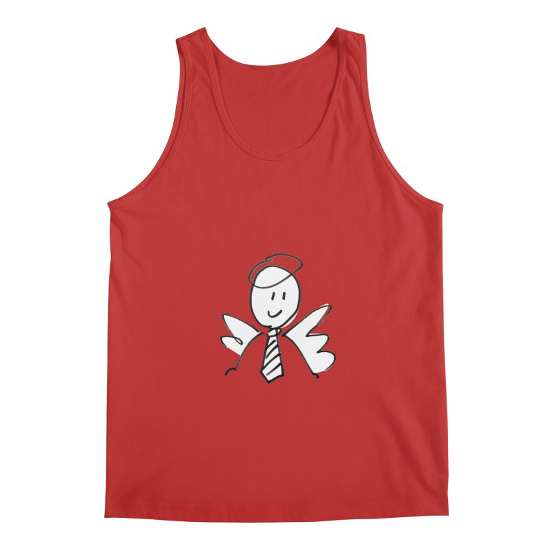 Angel Investor Men's Tank by chalkmotion's Shop