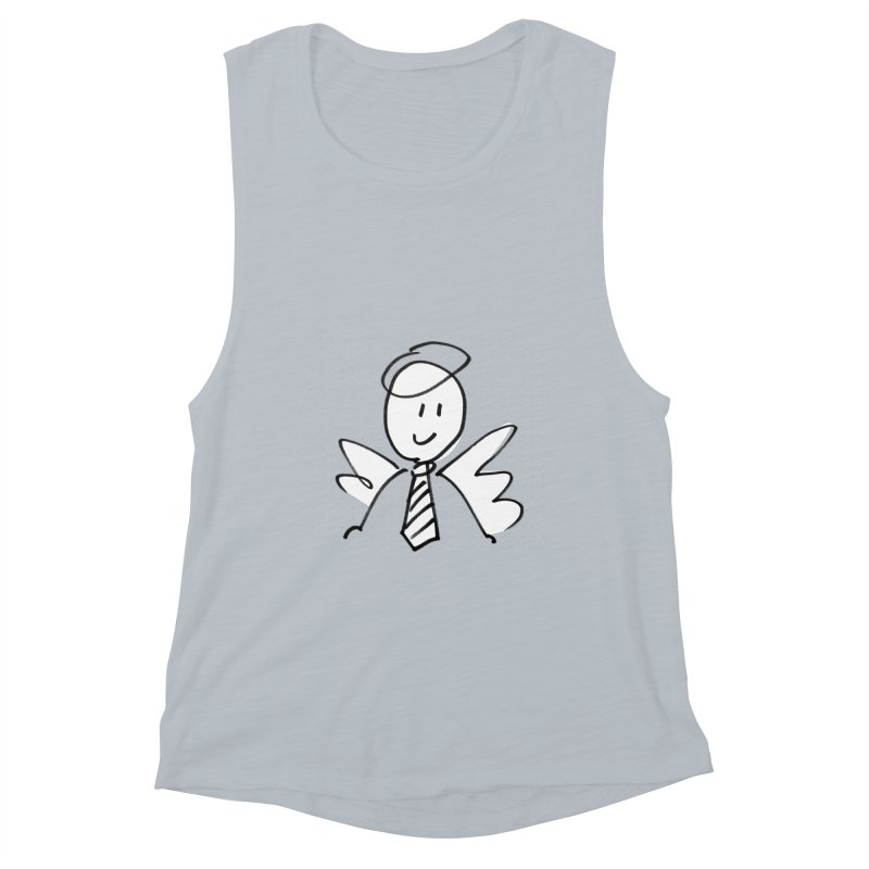 Angel Investor Women's Tank by chalkmotion's Shop