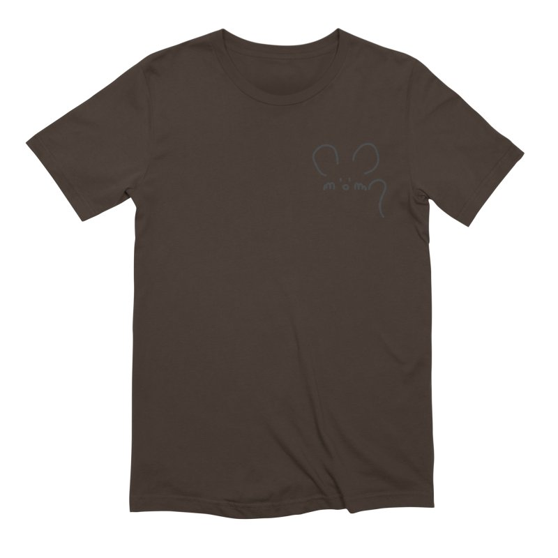 pocket mouse Men's Extra Soft T-Shirt by chalkmotion's Shop