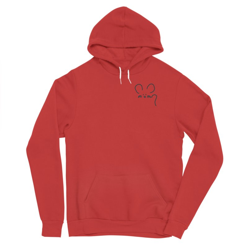 pocket mouse Men's Pullover Hoody by chalkmotion's Shop
