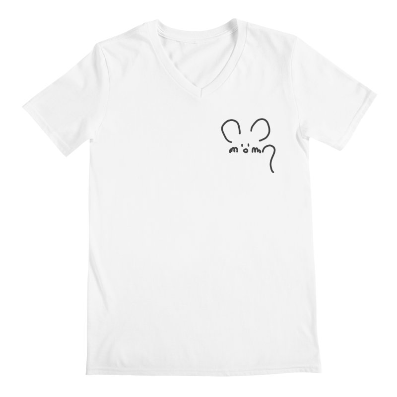 pocket mouse Men's V-Neck by chalkmotion's Shop