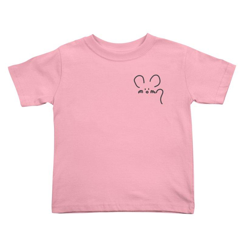 pocket mouse Kids Toddler T-Shirt by chalkmotion's Shop