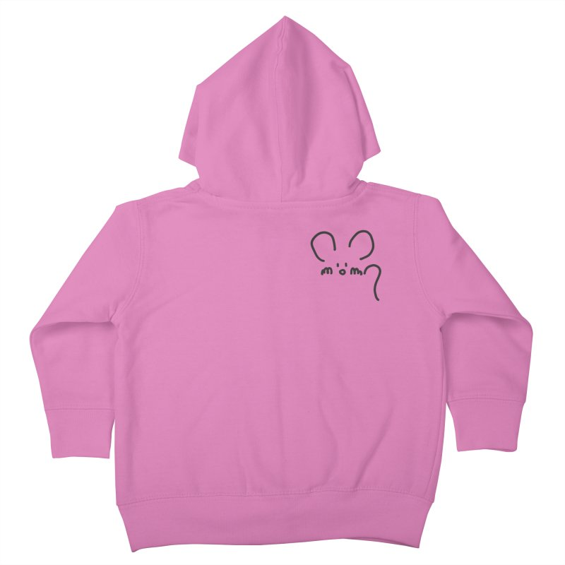 pocket mouse Kids Toddler Zip-Up Hoody by chalkmotion's Shop