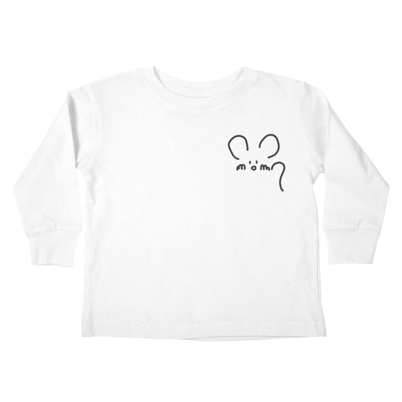 pocket mouse Kids Toddler Longsleeve T-Shirt by chalkmotion's Shop