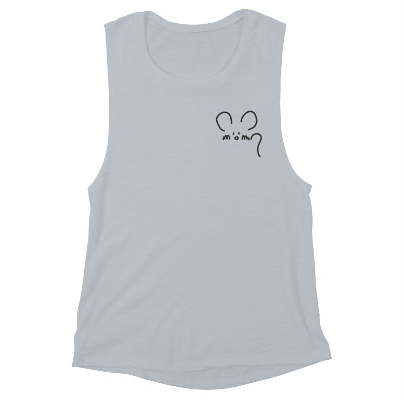 pocket mouse Women's Muscle Tank by chalkmotion's Shop