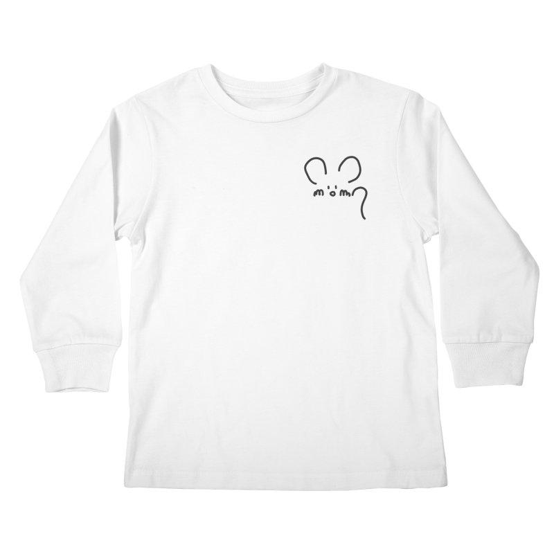 pocket mouse Kids Longsleeve T-Shirt by chalkmotion's Shop